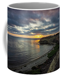 Coffee Mug featuring the photograph Lunada Bay At Sunset by Andy Konieczny