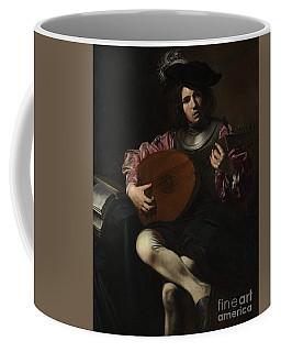 Lute Player Coffee Mug