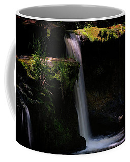 Coffee Mug featuring the photograph Lynn Mill Waterfalls by Jeremy Lavender Photography