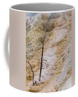 Mammoth Hot Spring Terraces Coffee Mug