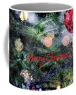 Merry Christmas Background Coffee Mug by Patricia Hofmeester