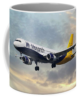Monarch Airlines Airbus A321-231 Coffee Mug