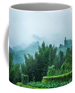 Mountains Scenery In The Mist Coffee Mug