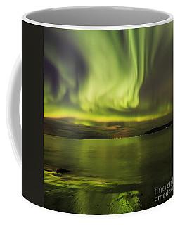 Northern Lights Reykjavik Coffee Mug