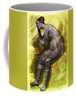 Nude Woman Coffee Mug by Svelby Art