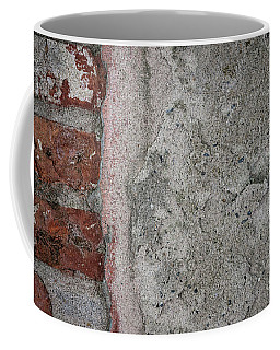 Coffee Mug featuring the photograph Old Wall Fragment by Elena Elisseeva