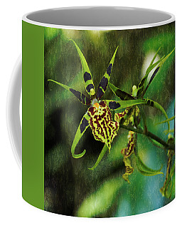 Coffee Mug featuring the photograph Orchid by Richard Goldman