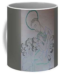 Our Lady Of Africa Coffee Mug by Gloria Ssali