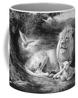 Peace Be With You Coffee Mug