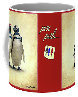 Pen Pals... Coffee Mug