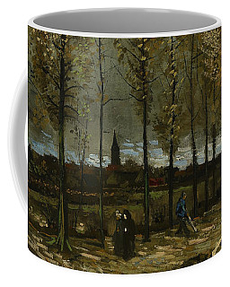Poplars Near Nuenen Coffee Mug