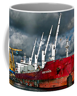 Port Of Amsterdam Coffee Mug