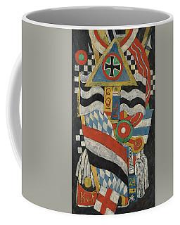 Portrait Of A German Officer Coffee Mug