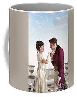 Regency Couple  Coffee Mug by Lee Avison