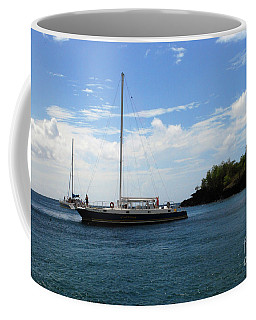 Coffee Mug featuring the photograph Sail Boat by Gary Wonning