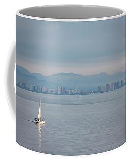 Sailing To Shore Coffee Mug