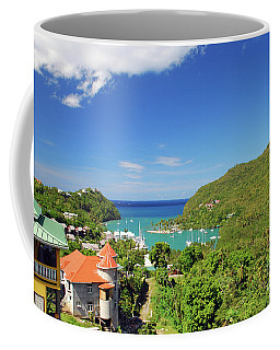 Coffee Mug featuring the photograph Saint Lucia by Gary Wonning