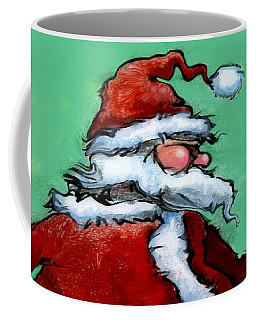 Coffee Mug featuring the painting Santa Claus by Kevin Middleton