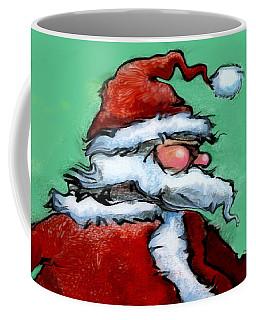 Santa Claus Coffee Mug by Kevin Middleton
