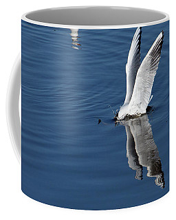 Seagull Fishing Coffee Mug