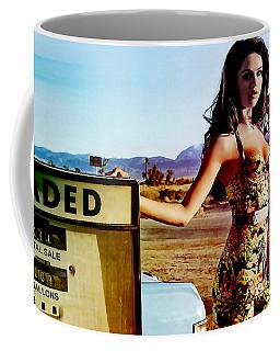 Coffee Mug featuring the digital art Selena Gomez  by Marvin Blaine
