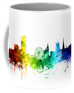 Sheffield England Skyline Coffee Mug