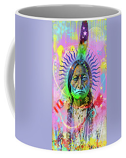 Sitting Bull Coffee Mug by Gary Grayson