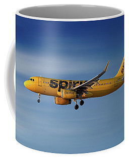 Spirit Airlines Airbus A320-232 Coffee Mug