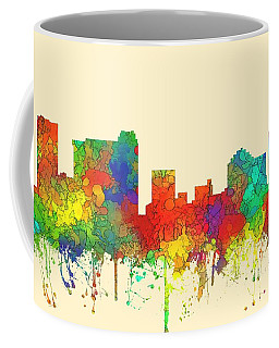 St Petersburg Florida Skyline Coffee Mug