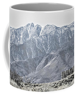 Standing Still Coffee Mug