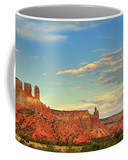 Sunset At Ghost Ranch Coffee Mug