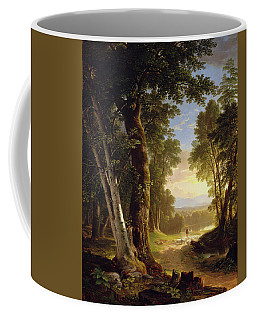 Coffee Mug featuring the painting The Beeches by Asher Brown Durand