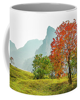 The Colorful Autumn Scenery Coffee Mug
