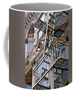 The Great Escape Coffee Mug by Ira Shander