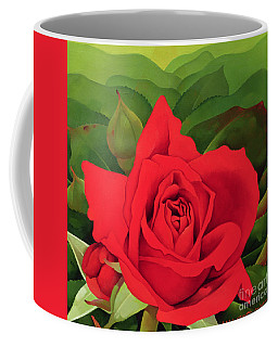 The Rose Coffee Mug