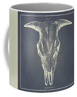 Vintage Ox Head Coffee Mug
