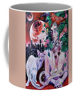 3 White Witches Coffee Mug