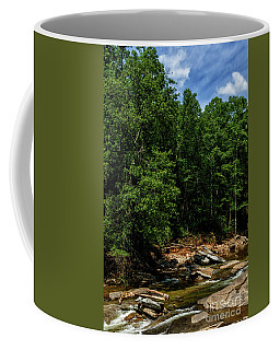 Coffee Mug featuring the photograph Williams River After The Flood by Thomas R Fletcher