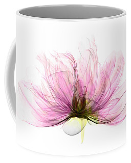 X-ray Of Peony Flower Coffee Mug