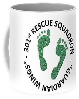 301st Rescue Squadron Coffee Mug by Julio Lopez
