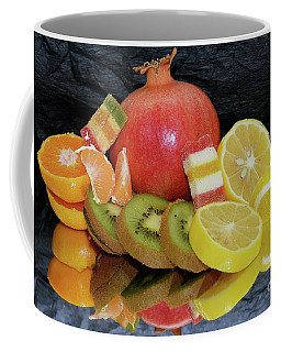 Fruits With Candys Coffee Mug