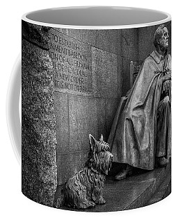 3150 Fdr Memorial Black And White Coffee Mug