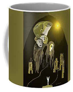 316  An Arrival Of The Gods A  Coffee Mug