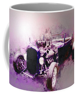 32 Ford Low Boy Roadster Watercoloured Sketch Coffee Mug