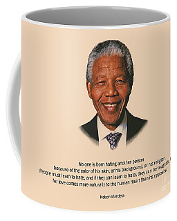 34- No One Is Born Hating Coffee Mug