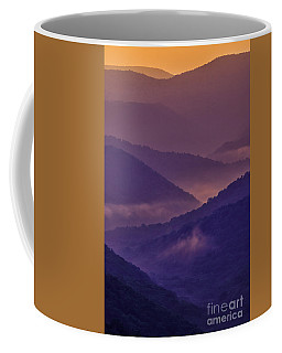 Coffee Mug featuring the photograph Allegheny Mountain Sunrise Two by Thomas R Fletcher