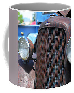 35 Chevy Truck Front Coffee Mug by Kae Cheatham