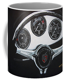 356 Porsche Dash Coffee Mug