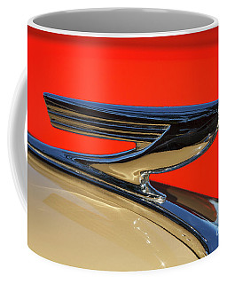 Coffee Mug featuring the photograph '37 Chevy by Dennis Hedberg