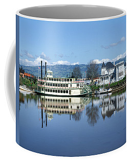 3b6380 Petaluma Queen Riverboat Coffee Mug